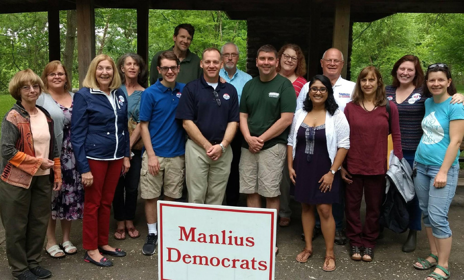 Manlius Democrats in the Park